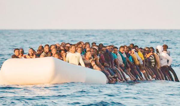Pana Gazen Europe Ponchne Ke Koshish Main Mout Say Hamkinar