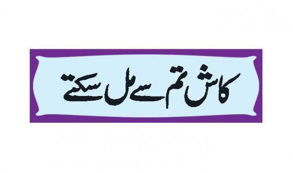 Kash Tum Say