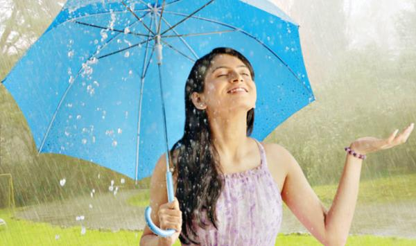 In The Rainy Season My Skin Look