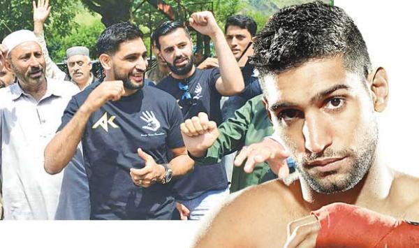 Boxer Arrives At Aamir Khan Loc