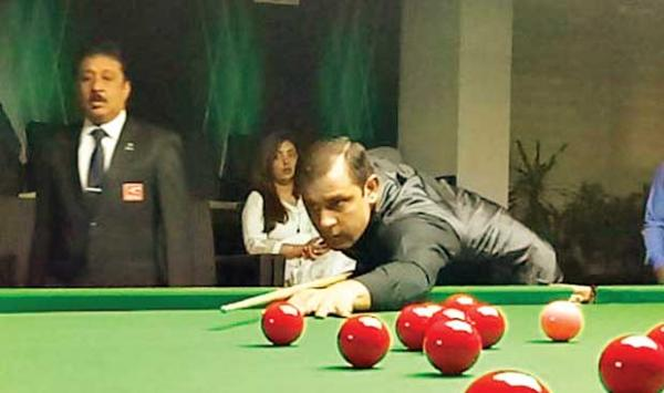 Shark Snooker Asad Iqbal Champion