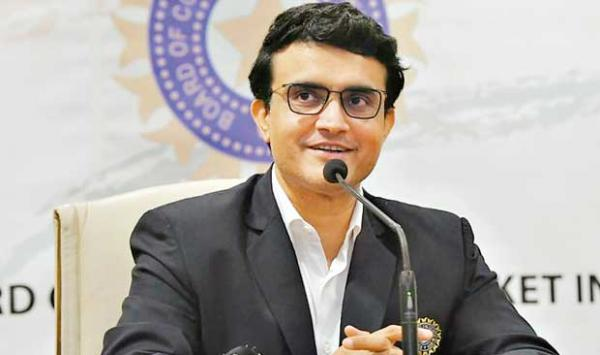 Ganguly The Head Of The Indian Cricket Board