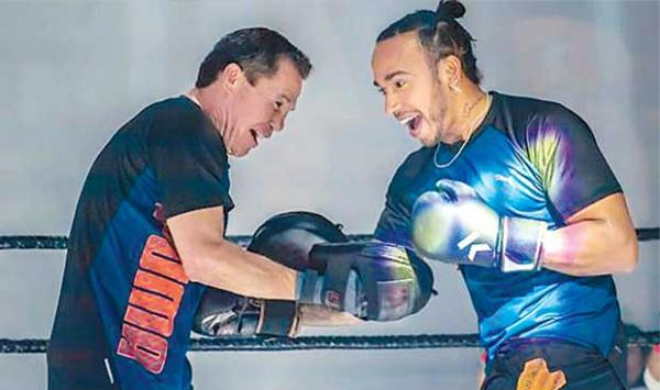 The Formula One Driver Became A Boxer