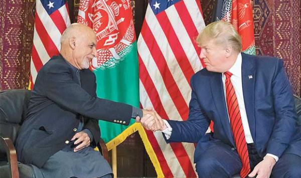 Trumps Visit To Afghanistan