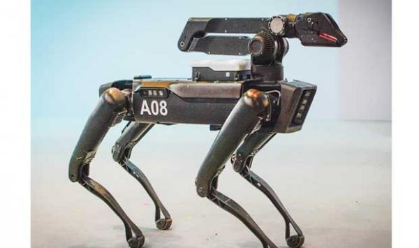 Robot Dogs In Us Police