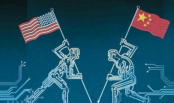 Internet War Between China And The United States
