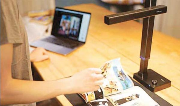 Book Scanning Device In Minutes