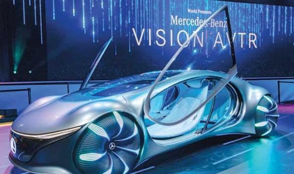 Modern Mercedes Cars Like The Movie Avatar