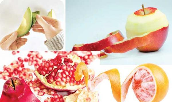 Fruit Peels Very Useful
