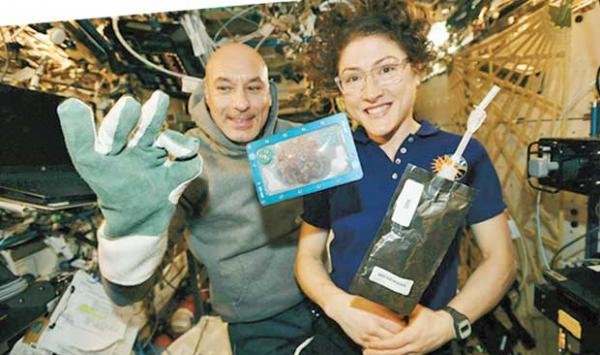 Prepare Food For The First Time In Space