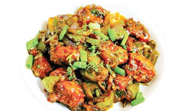 Chicken Chili Masala