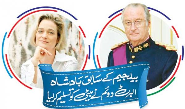 Former Belgian King Albert Ii Recognizes His Daughter