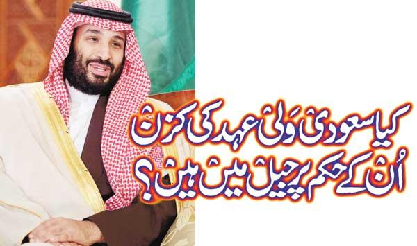 Are Saudi Cousins In Jail On Their Orders