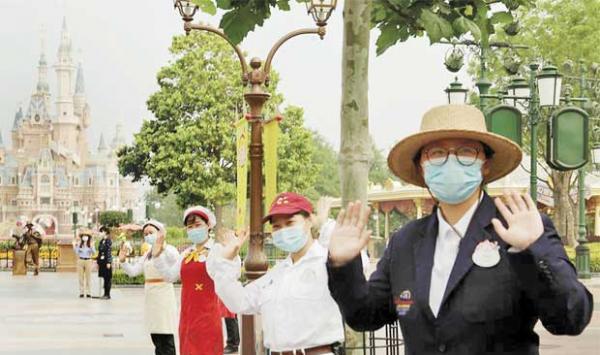 Disneyland Opens In Shanghai