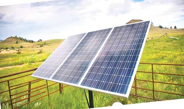 The Efficiency Of Solar Cells Generating Electricity