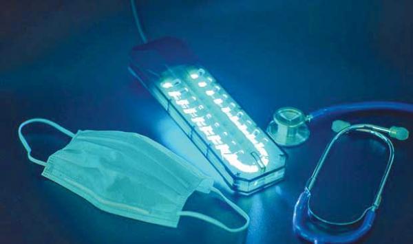 Ultraviolet Light Coded 19 Light