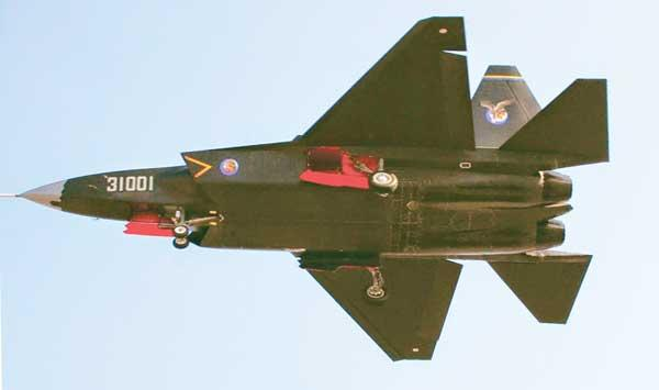 Chinas J31 Fighter Jet
