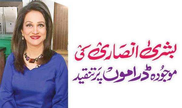 Criticism Of Bushra Ansaris Current Dramas
