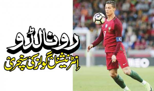 Ronaldo A Century Of International Goals