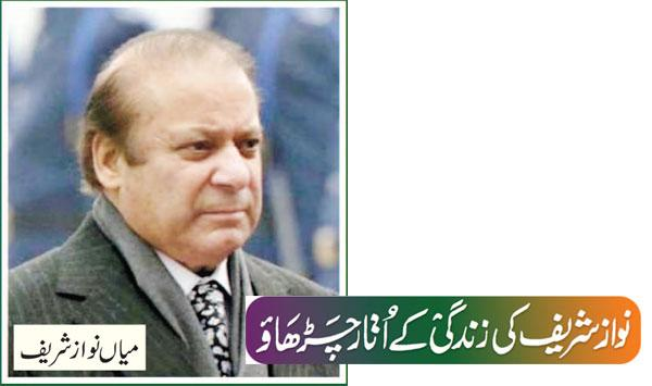The Ups And Downs Of Nawaz Sharifs Life