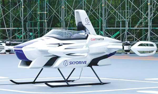 A Test Flight Of A Flying Car In Japan