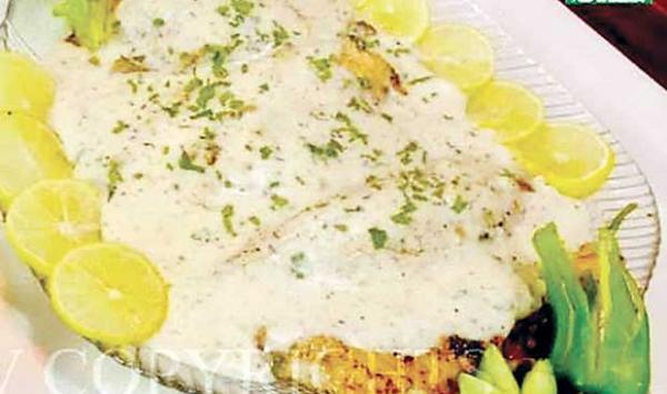 Lemon Herb Grilled Fish