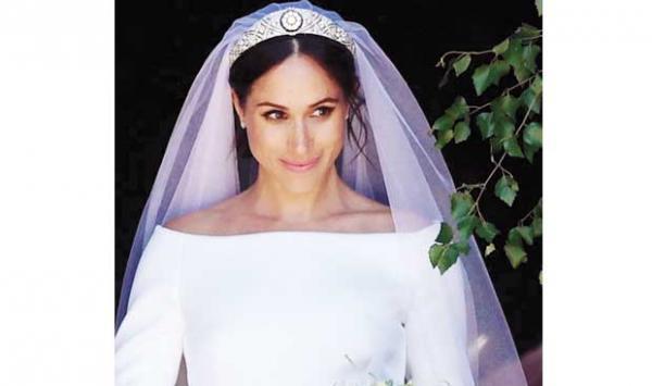 Megan Merkels Wedding Dress Whose Money