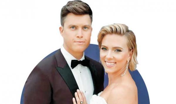Scarlett Johansson S Third Marriage