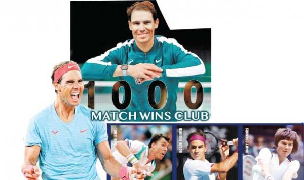 Rafael Nadal Is The Winner Of A Thousand Matches