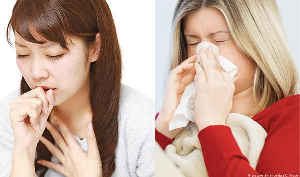 Runny Nose And Phlegm Cough Common Cold May Be Symptoms