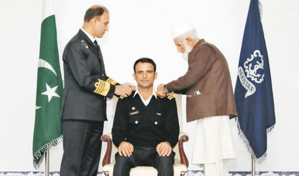 Fakhruzzaman Was Conferred The Honorary Rank Of Lieutenant In The Pakistan Navy