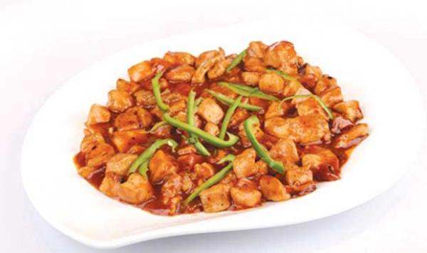 Smoked Chicken Manchurian
