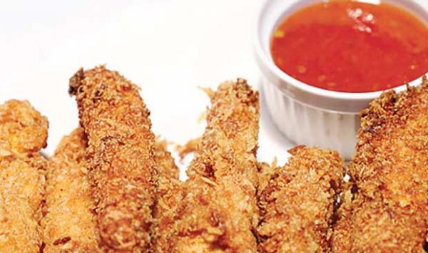 Tandoori Fried Chicken Fingers