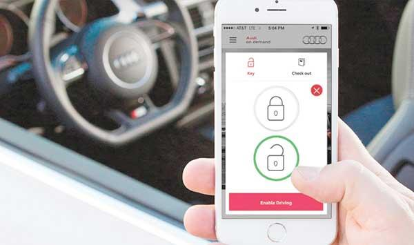 The Phone Can Now Unlock The Car