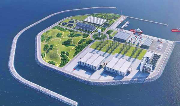 The Worlds First Artificial Energy Island