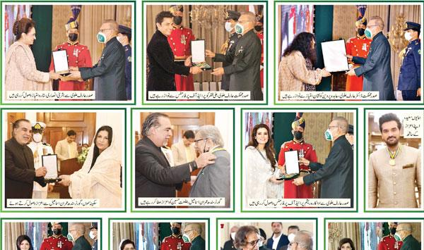Civil Awards For Fine Arts Personalities