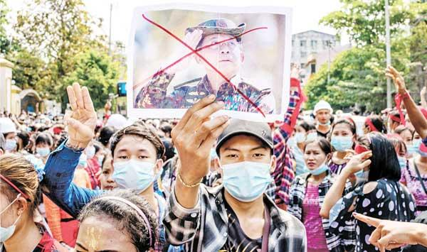 A Symbol Of Myanmars Army Brutality And Barbarism