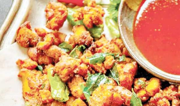 Chit Patte Chicken Fritters