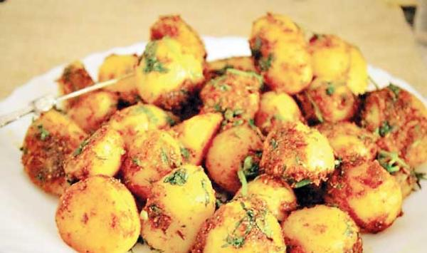 Dhoraji S Sour Potatoes