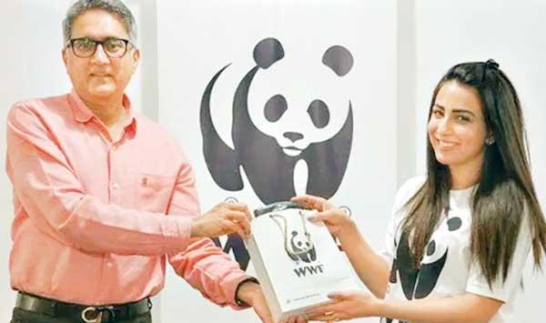 Ushna Shah Ambassador Of The World Wildlife Fund