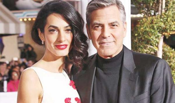 George Clooney Is Afraid Of His Wife