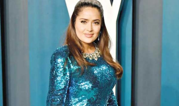 Salma Hayek Cried While Closing The Romantic Scene