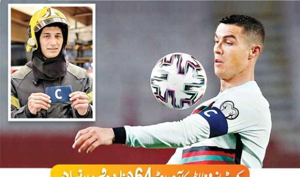Cristiano Ronaldos Arm Band Auctioned For 64000 Euros