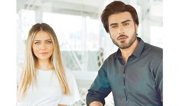 Photos Of Imran Abbas With Turkish Actress Birchen Abdullah Go Viral
