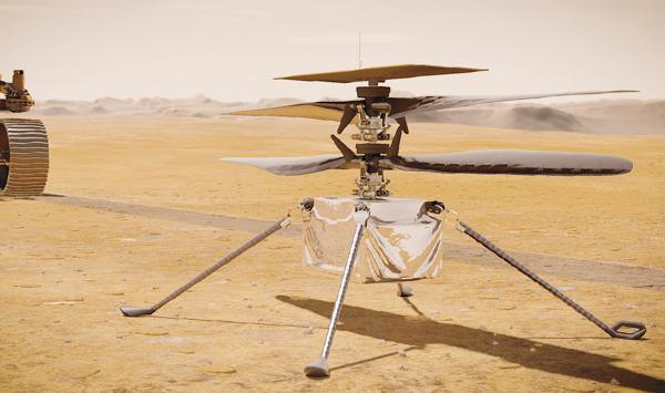 Mars Helicopter Ready To Fly