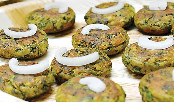 Spinach And Lentil Cutlets