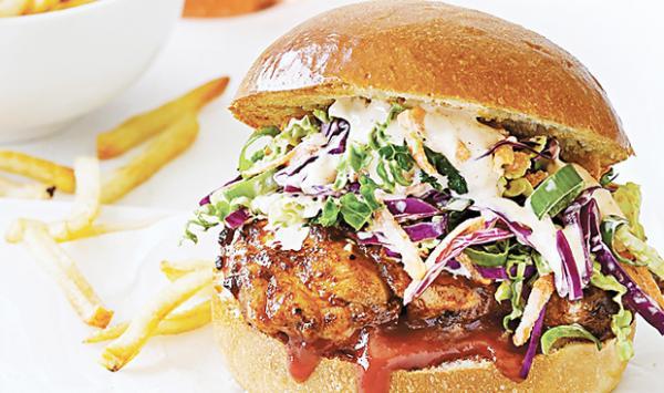 Smoky Chicken Flavor Burger