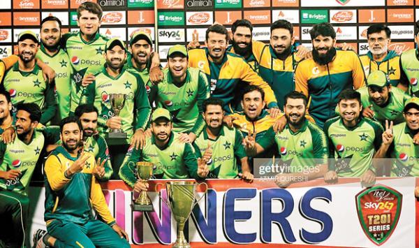 Pakistan Cricket Team Made History