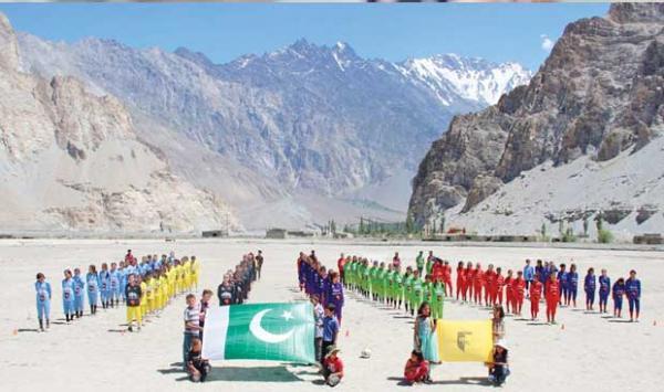 Gilgit Baltistan Netball Team Two Day Trials