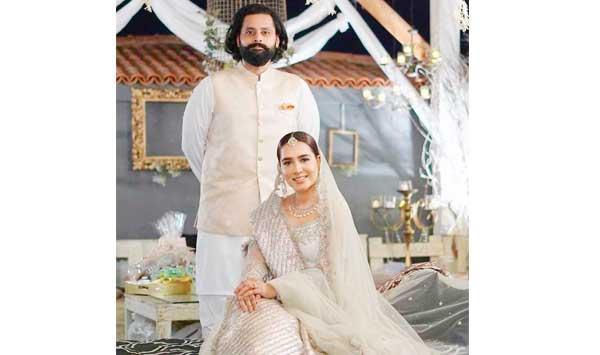 Mansha Pasha And Gibran Nasir Got Married